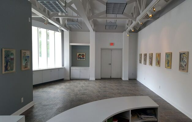 Extemporal: Works on Paper by Bruce Adams, installation view