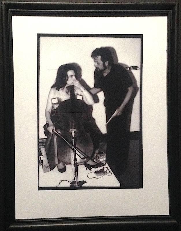 Paul Garrin, 'Frank Pileggi & Charlotte Moormon, Whitney Museum', 1982, Photography, Archival pigment print, IFAC Arts