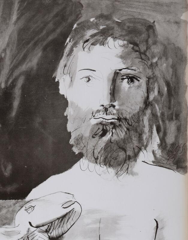 Pablo Picasso, 'L'Homme au mouton', 1967, Print, Lithograph (Jacomet process), NCAG