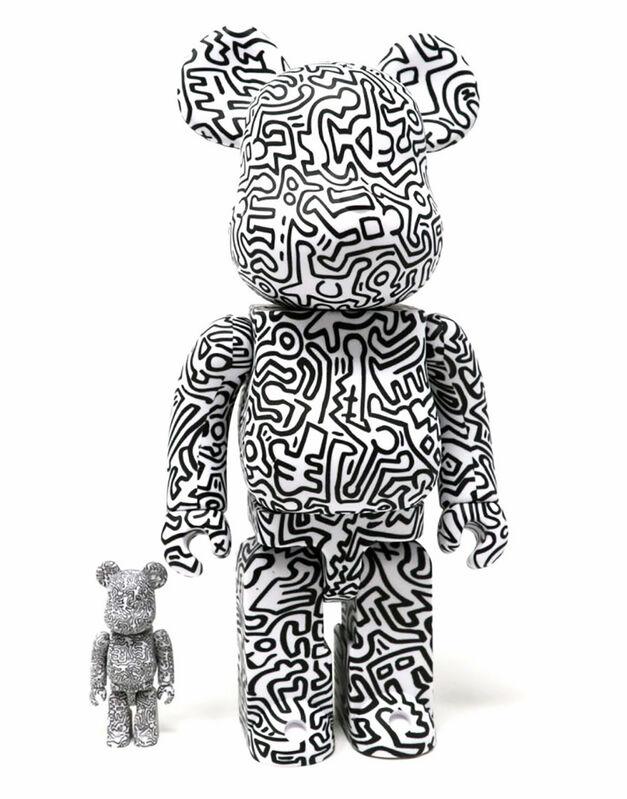 Keith Haring, 'Keith Haring Bearbrick 400% Companion (Haring BE@RBRICK)', 2019, Ephemera or Merchandise, Vinyl sculpture, Lot 180