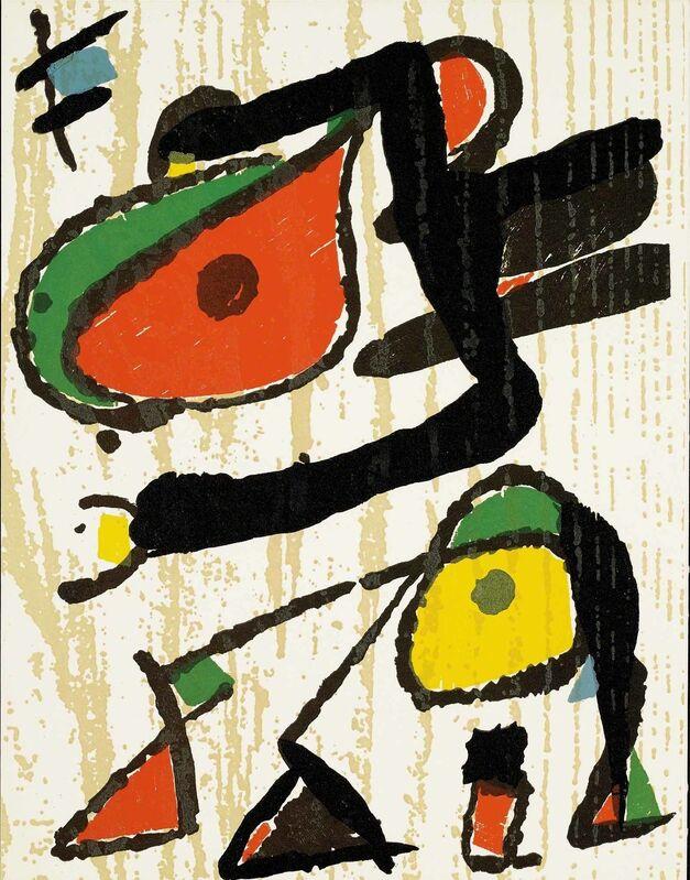 Joan Miró, 'Untitled (D.1293, Miro Graveur Volume III)', Print, Wood engraving, Martin Lawrence Galleries