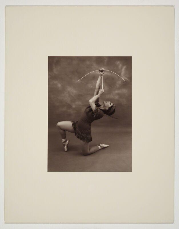 Eleanor Antin, 'Pocahontas (pose 1)', 1976-1977, Photography, Silver gelatin print, Ronald Feldman Gallery