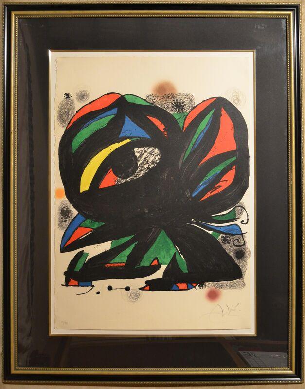 Joan Miró, 'Fundacio Joan Miró Barcelona - Limited edition Lithograph', 1975, Print, Lithograph, Newport Brushstrokes Fine Art