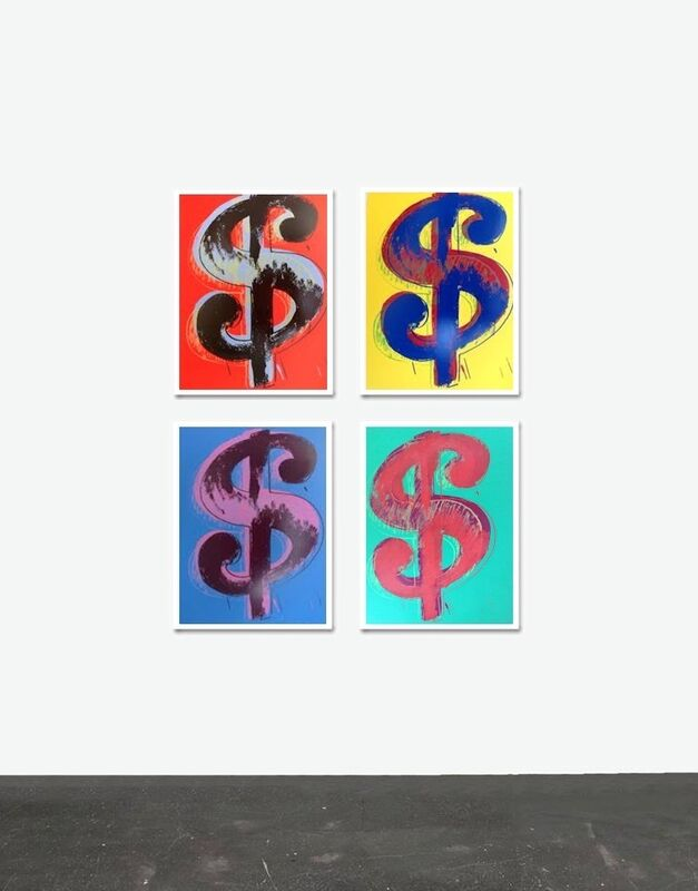 Andy Warhol, 'Dollar Signs - Sunday B. Morning (After)', Reproduction, Serigraphs, ARTEDIO