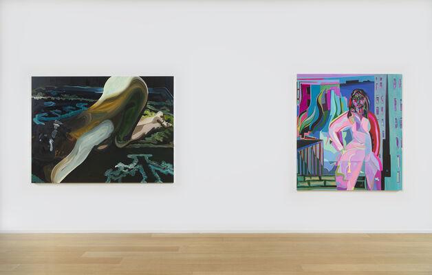 Mira Dancy, Frace-Lise McGurn, Clare Woods, installation view