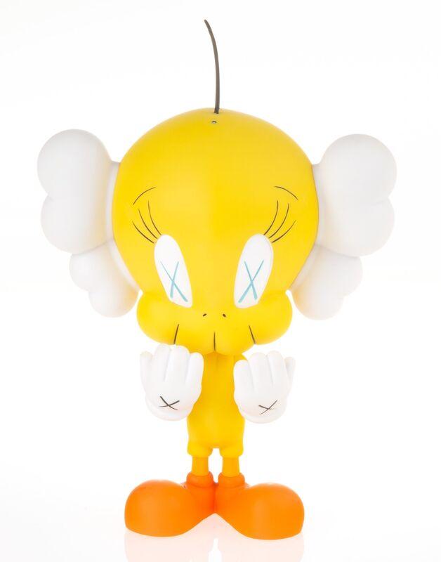 KAWS, 'Tweety', 2010, Sculpture, Painted cast vinyl, Heritage Auctions