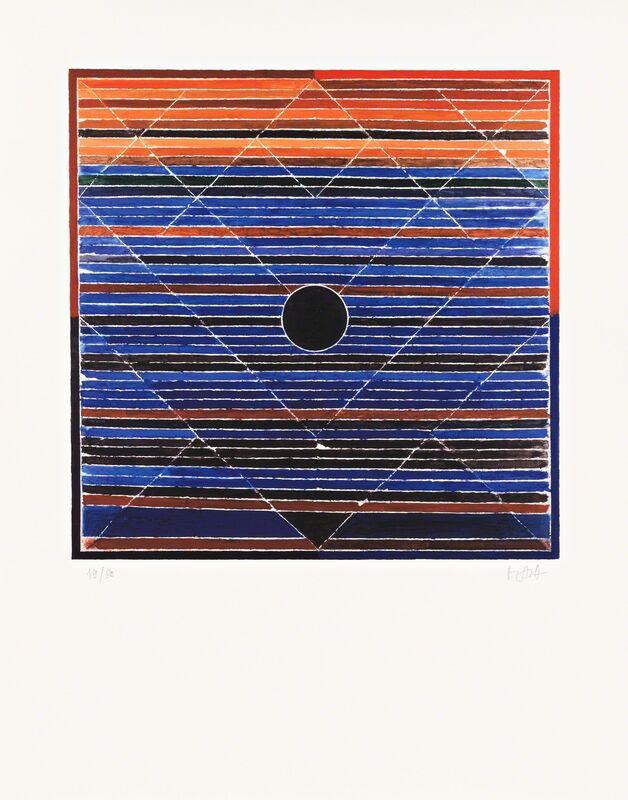 S. H. Raza, 'Jala Bindu', 2005, Print, Inkjet, CITYarts Benefit Auction