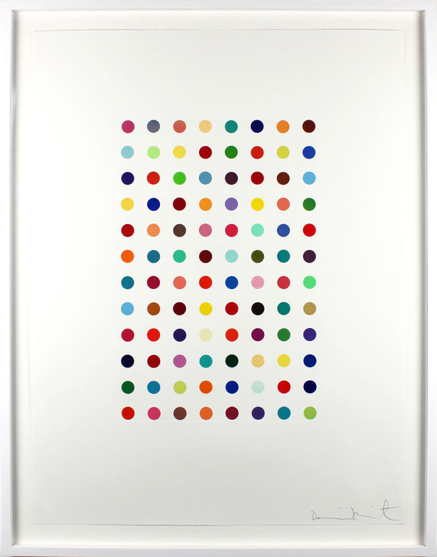 Damien Hirst, 'Xylene Cyanol Dye Solution', 2005, Print, Aquatint in colours, on Hahnemühle etching paper, with full margins, Gormleys Fine Art