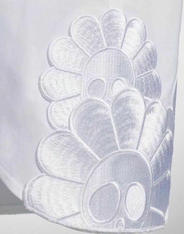 Takashi Murakami, 'A Tribute to Karl (Karl Lagerfeld)', 2019, Fashion Design and Wearable Art, Cotton, La Maison de la Petite Sara