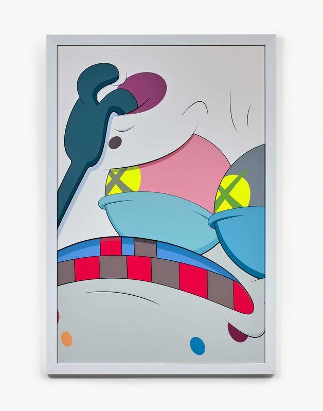 KAWS, 'Blame Game ', 2014, Print, Silkscreen on paper, Gin Huang Gallery