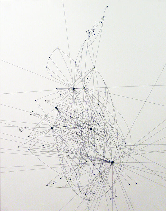 Langlands & Bell, 'Air Routes of Britain (Day)', 2000, Print, Screenprint, Cristea Roberts Gallery