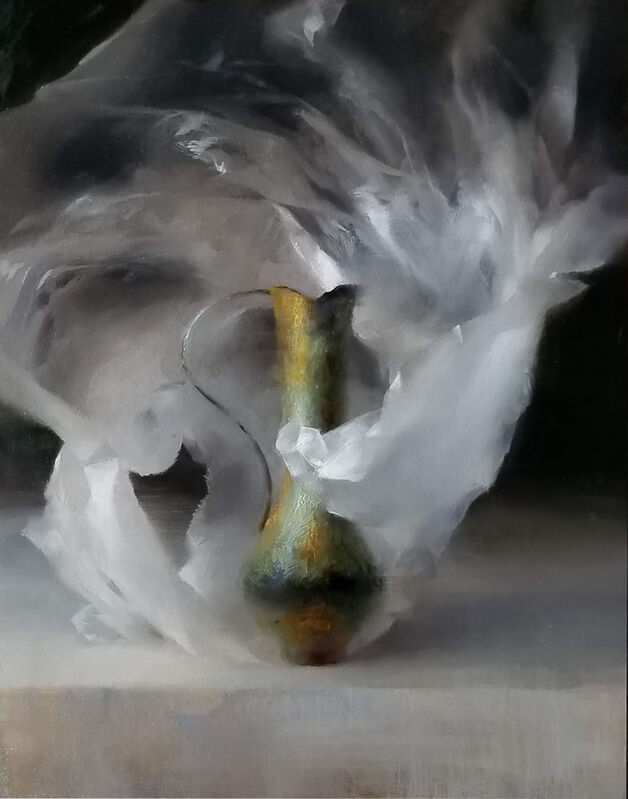 Sadie Valeri, 'Copper Pitcher', 2019, Painting, Oil on canvas, Lily Pad West