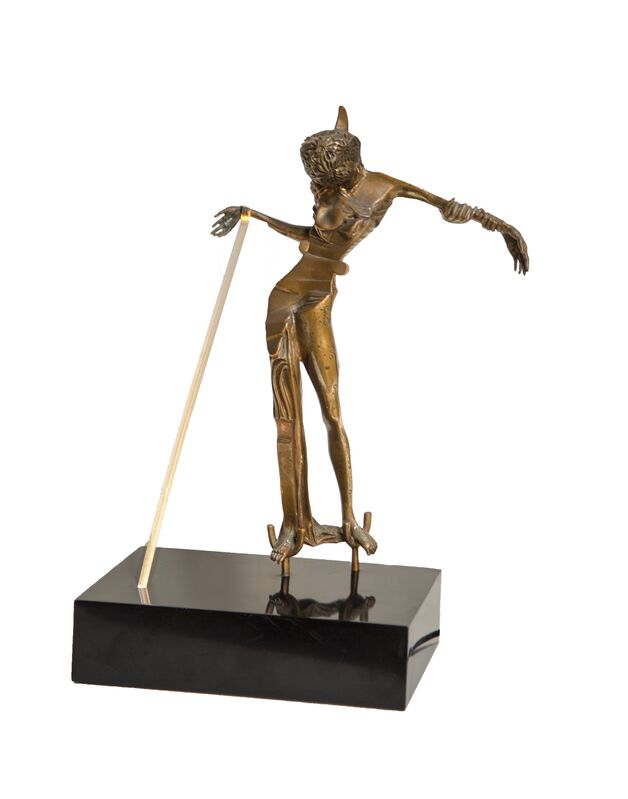 Salvador Dalí, 'Woman with a Head of Roses', 1981, Sculpture, Bronze Sculpture, RoGallery