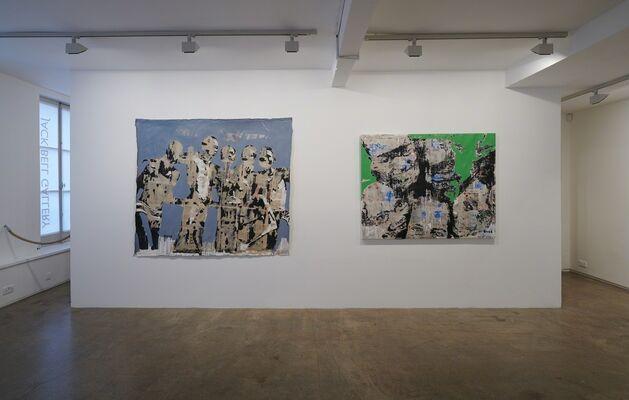 Armand Boua - Mogo de Poy City, installation view
