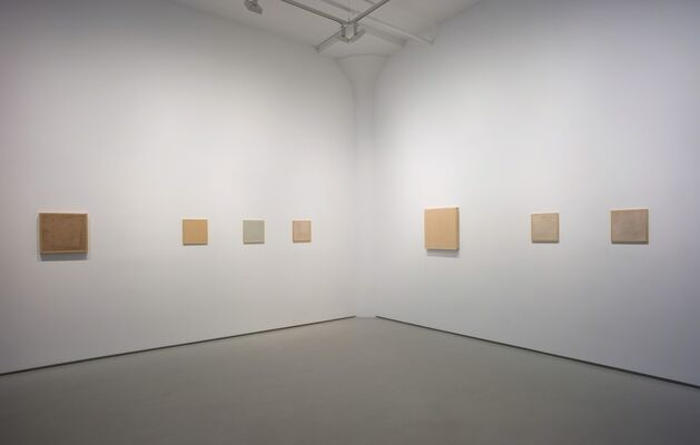 Marcia Hafif Remembered, installation view