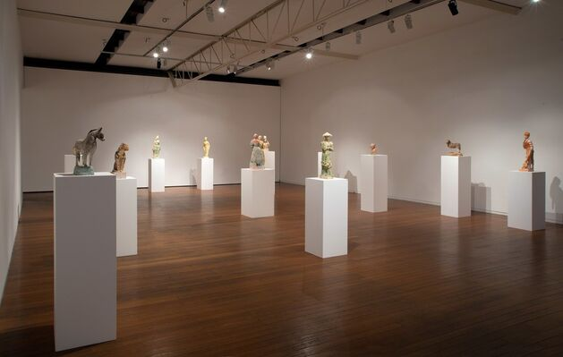 Linda Marrinon, installation view