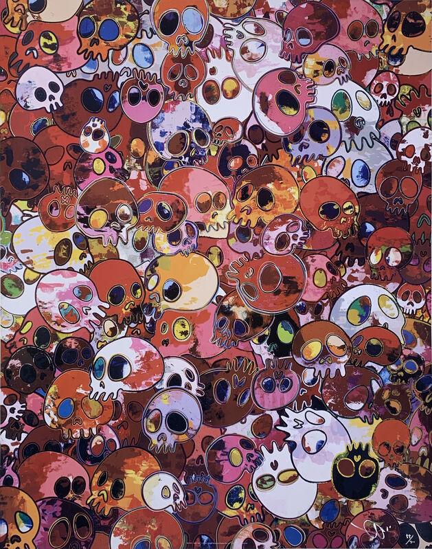 Takashi Murakami, 'MCRST 1962→2011', 2011, Print, Offset lithography, Art Works Paris Seoul Gallery