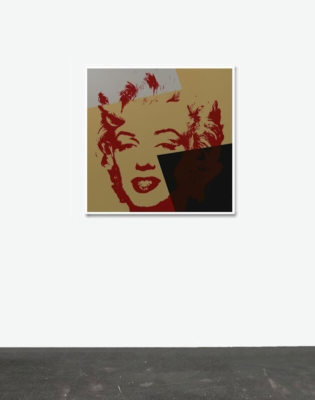 Andy Warhol, 'Golden Marilyn X - Sunday B. Morning (After)', Reproduction, Serigraph, ARTEDIO