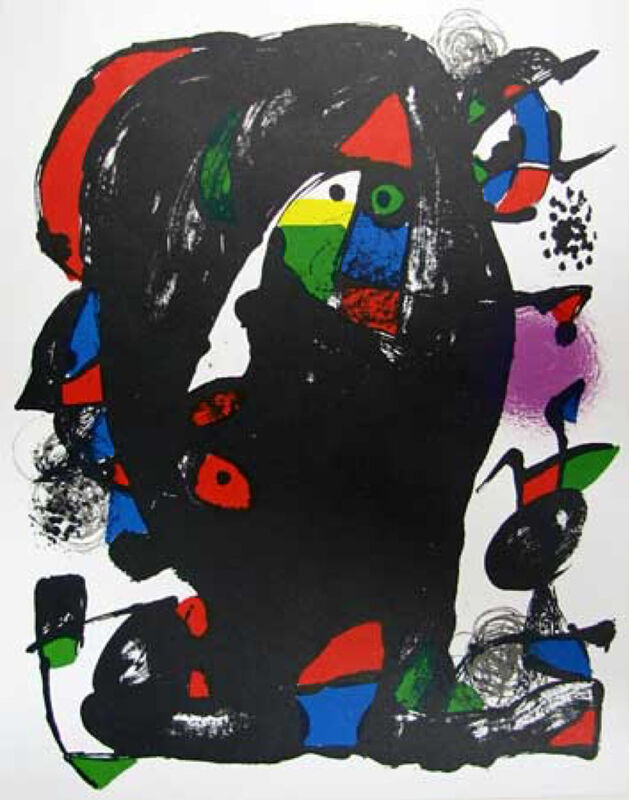 Joan Miró, 'Untitled', 1981, Print, Lithograph, Galerie d'Orsay