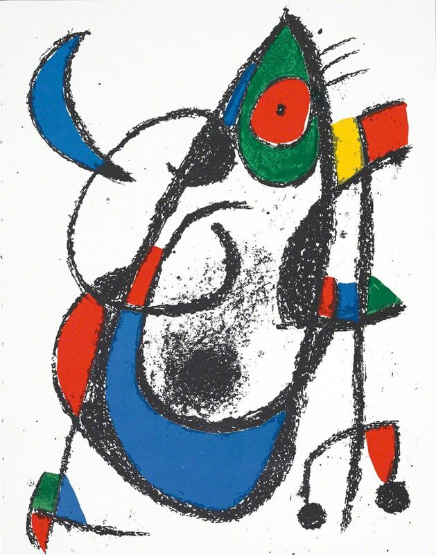 Joan Miró, 'Untitled (Lithographe II, M.1047)', 1-2020, Print, Lithograph, Martin Lawrence Galleries