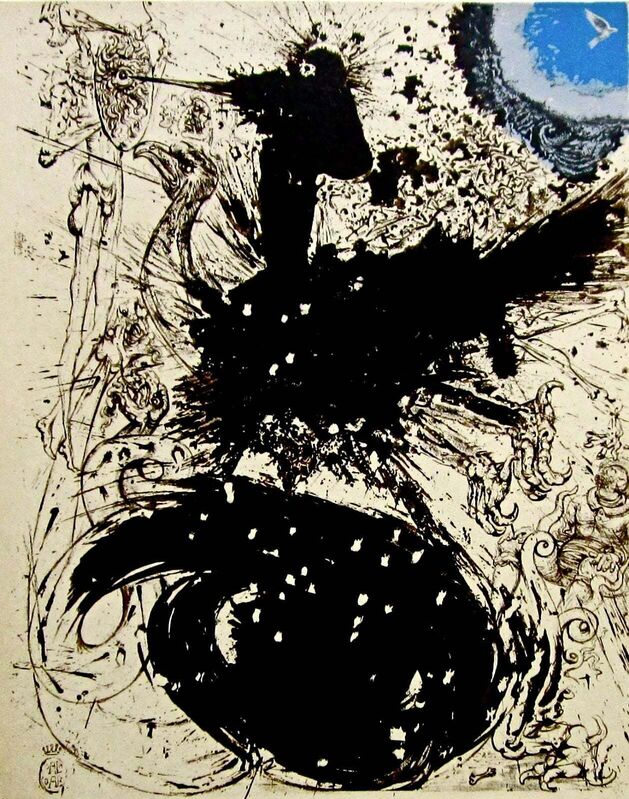 Salvador Dalí, 'The Visions', 1957, Print, Stone Lithograph on Japon Imperial paper, Art Commerce