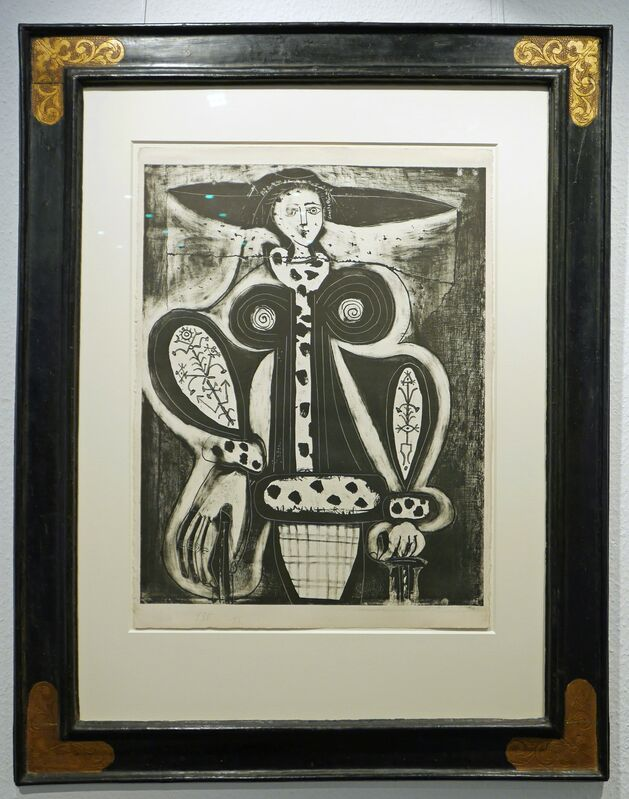 Pablo Picasso, 'Femme au fauteuil', 1948, Print, Lithograph, 5th state, Galerie Ostendorff