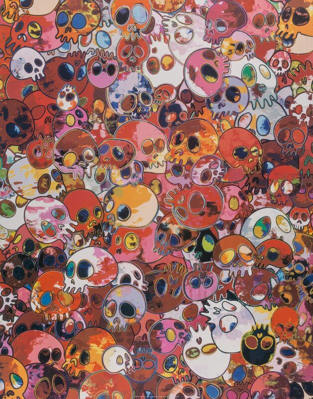 Takashi Murakami, 'MCRST, 1962-2011', 2011, Print, Offset lithograph in colors on satin high white paper, Heritage Auctions