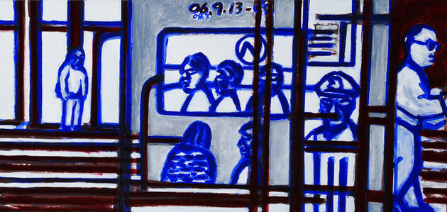 Suh Yongsun, 'Berlin Subway', 2006-2008