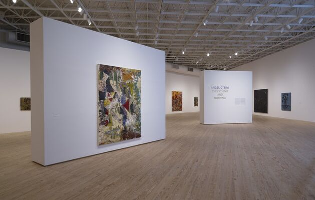 Angel Otero: Everything and Nothing, installation view