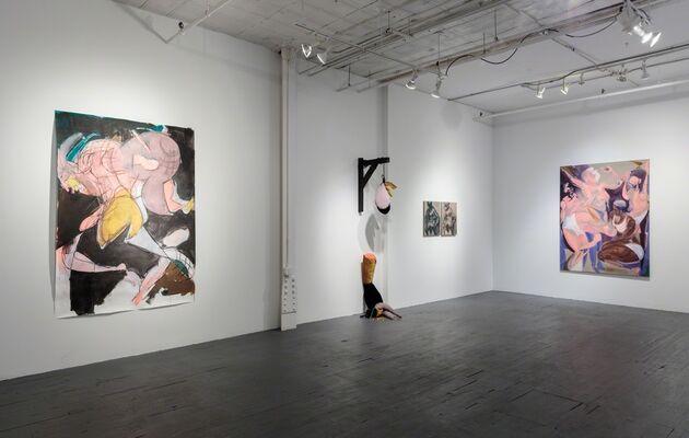 "Tina Schwarz, ""A Dollar, a Dime, a Very Thin Penny"", installation view"