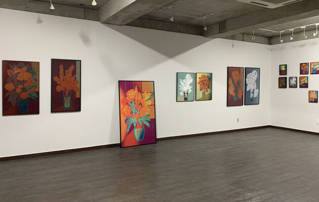 Galerie Pici at Seattle Art Fair 2019, installation view