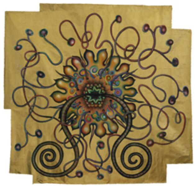 Miriam Wosk, 'Golden Mandala', 1999