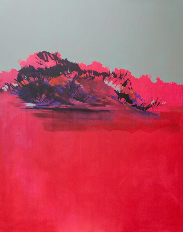 María José Concha, 'Contemplo I', 2013, Painting, Oil and acrylic on canvas, DECORAZONgallery