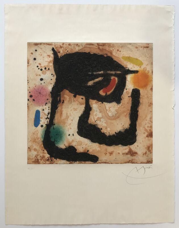 Joan Miró, 'Le Dandy', 1969, Print, Etching, Aquatint, and Carborundum, Denis Bloch Fine Art