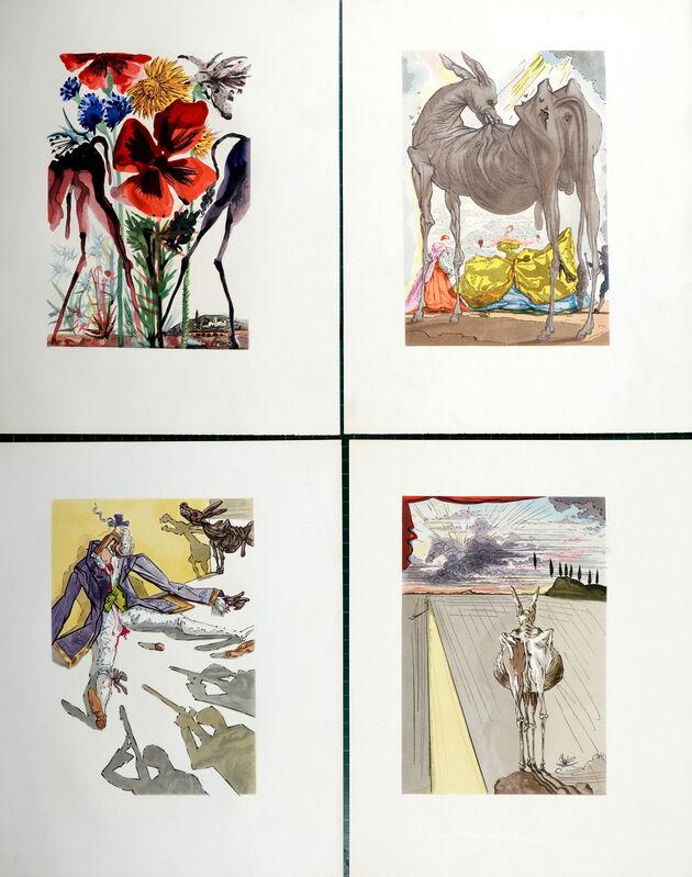 Salvador Dalí, 'Le Tricorne', 1959, Print, Complete suite of  20 color woodblock prints, NCAG