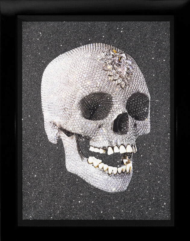 Damien Hirst, 'For The Love Of God, 'Laugh' Skull with Diamond Dust', 2007, Print, Silkscreen, Diamond Dust, Arton Contemporary