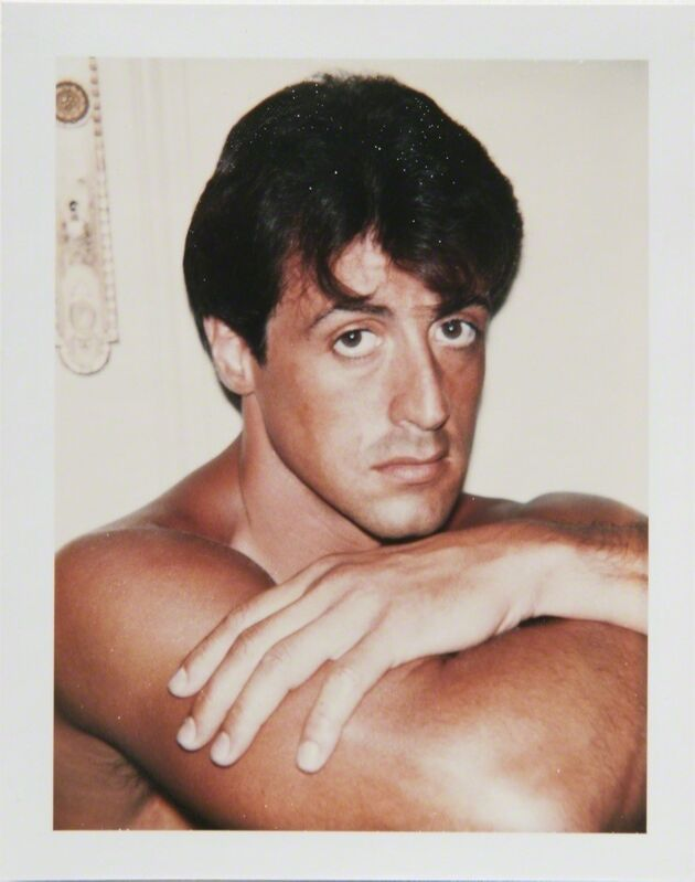 Andy Warhol, 'Andy Warhol, Polaroid Portrait of Sylvester Stallone', 1980, Photography, Polaroid, Hedges Projects