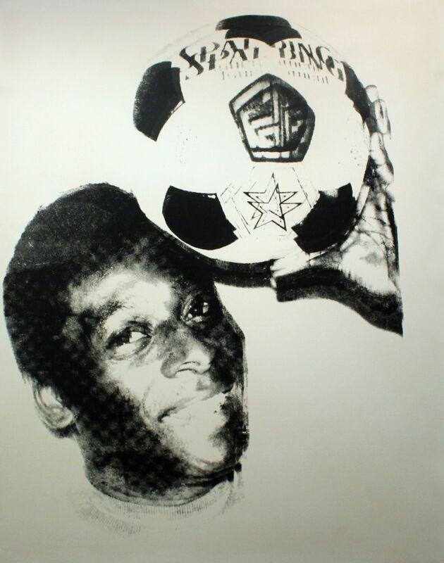 Andy Warhol, 'PELÉ (FS IIIC.8)', Print, 1978, Gormleys Fine Art
