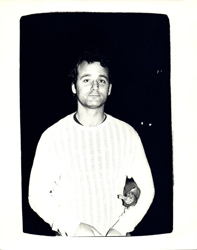 Andy Warhol, 'Andy Warhol, Photograph of Bill Murray circa 1981', ca. 1981, Photography, Silver gelatin print, Hedges Projects