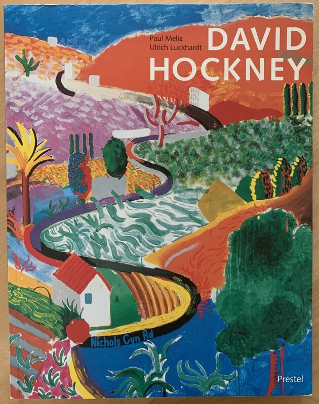 David Hockney, 'Untitled ', ca. 2002, Drawing, Collage or other Work on Paper, Crayon on paper, within book, Kwiat Art