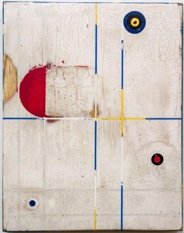 Kris Cox, 'Henthorne One, Bone', 2014, Mixed Media, Pigmented wood putty, acrylic, Dorland's Wax Medium on wood panel, William Campbell Contemporary Art Inc