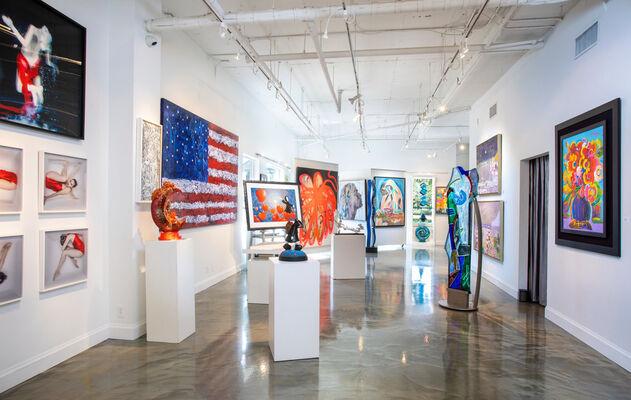 Onessimo Fine Art at Palm Beach Modern + Contemporary  |  Art Wynwood, installation view