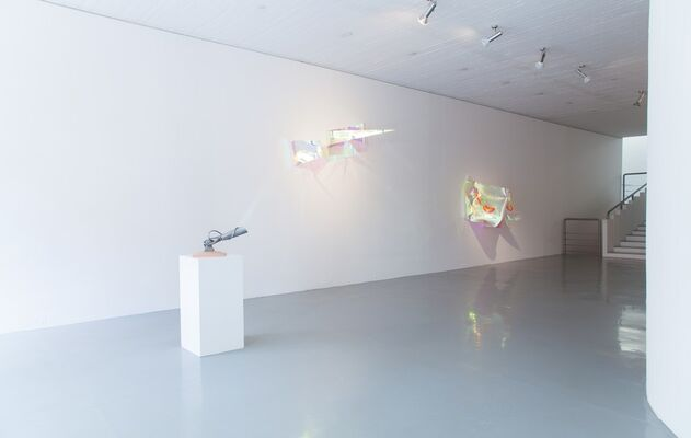 RESET II and FUTURISM, installation view