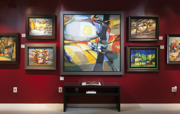 Marcel Mouly: Light and Color, installation view