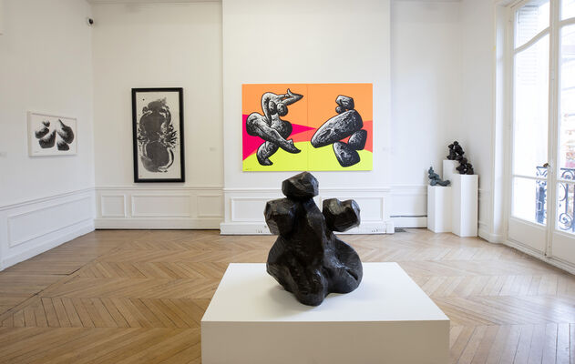 A2Z Art Gallery at Asia Now 2019, installation view