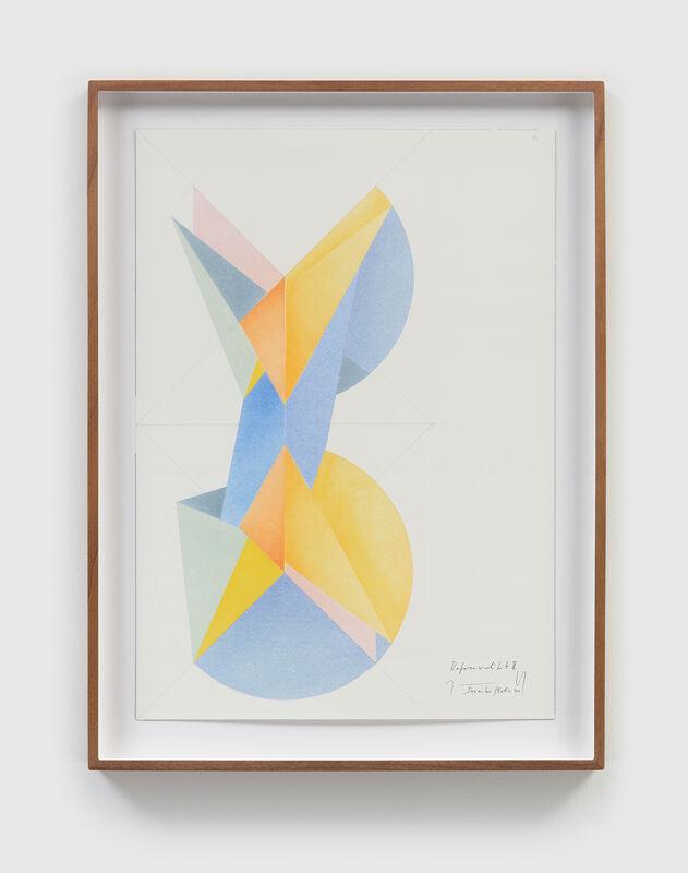 Jorinde Voigt, 'Referenzialität II', 2020-21, Mixed Media, Pastel and graphite on paper, David Nolan Gallery