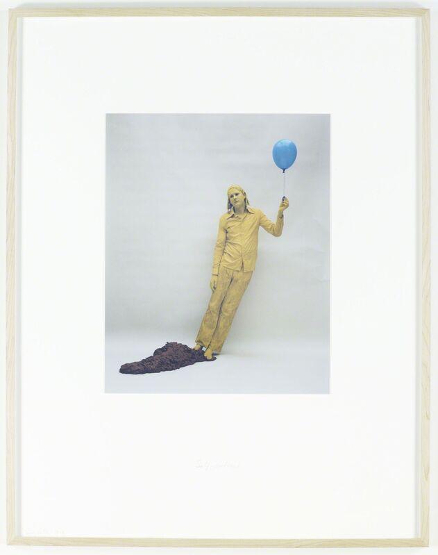 Sigurdur Gudmundsson, 'Self-portrait', 1978, Photography, C-print, text, i8 Gallery