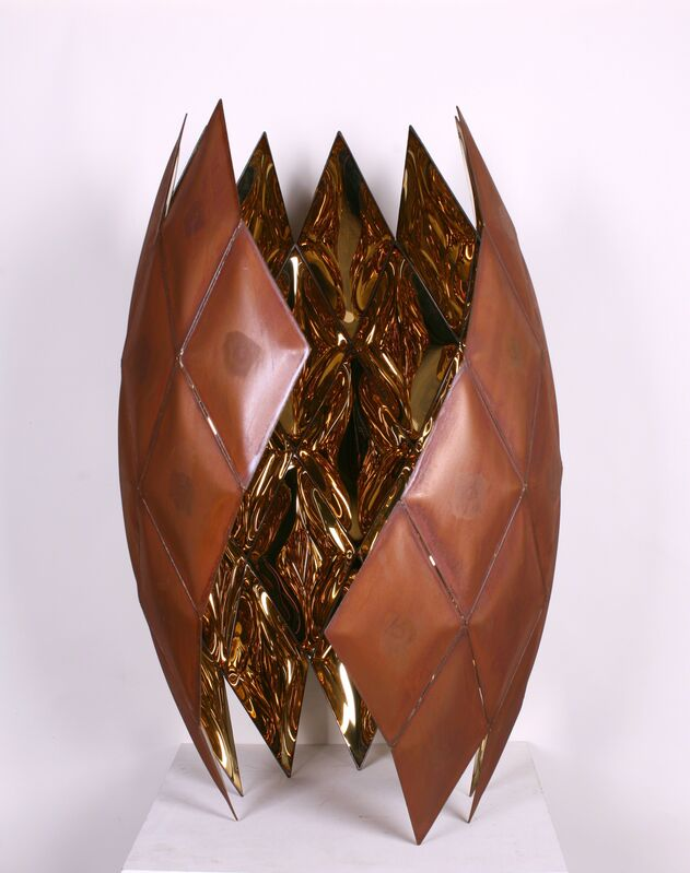Ko Am, 'inside', 2016, Sculpture, Stainless Steel, Wada Garou Tokyo