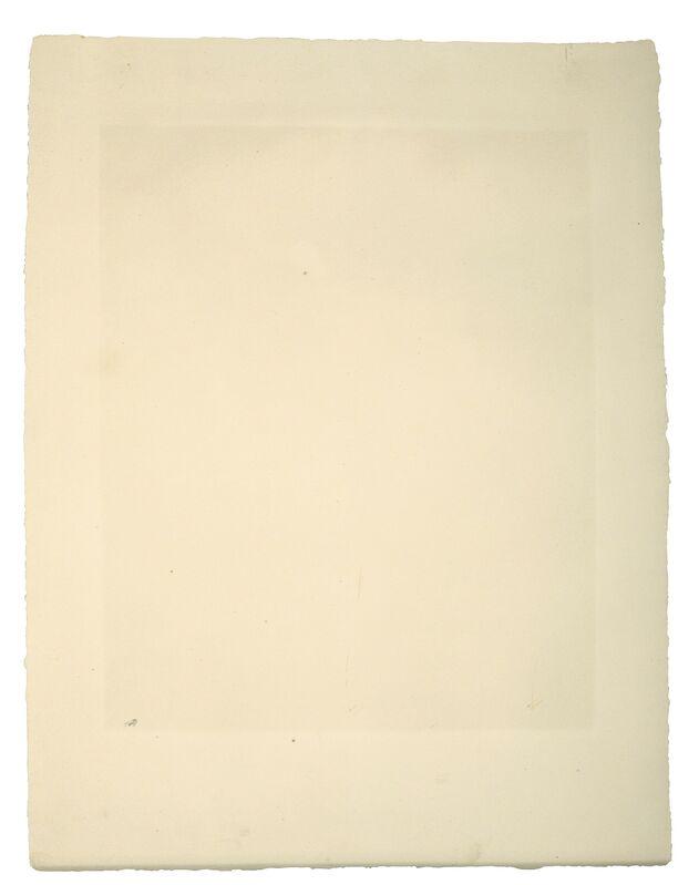 Pablo Picasso, 'Fumeur au Maillot rayé gris et bleu', 1964, Print, Aquatint in colours on Auvergne Richard de Bas wove paper, Christie's