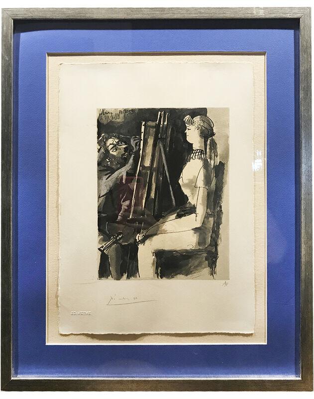 Pablo Picasso, 'Untitled', 1959, Print, Gouache on paper, AH Fine Art